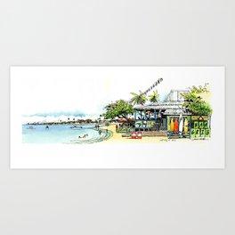 Calico Jack's, Grand Cayman (no notes) Art Print
