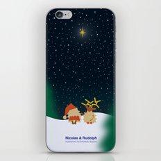 Nicolas&Rudolph (Star) iPhone & iPod Skin