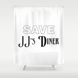 Save JJ's Diner Shower Curtain