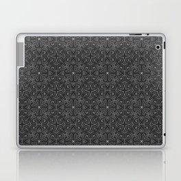 Gray Swirl Pattern Laptop & iPad Skin