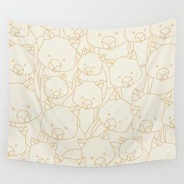 Minimalist Wombat Wall Tapestry