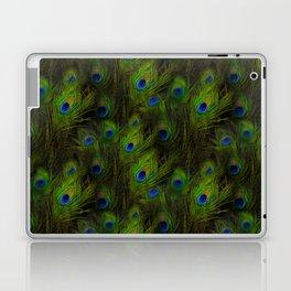 Peacock Feather Plummage Laptop & iPad Skin