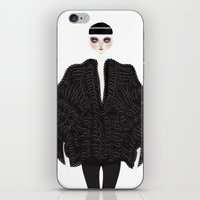 goth iPhone & iPod Skins featuring Elegant goth by \nicolafleming