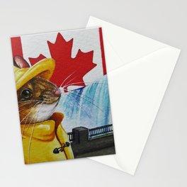 Mice Around the World No. 4 Canada Stationery Cards