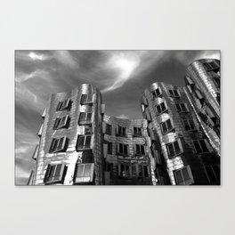 Neuer Zollhof | Architect Frank Gehry | Düsseldorf - Germany Canvas Print