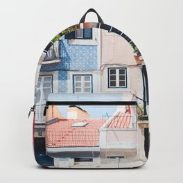 Colorful Buildings Backpack