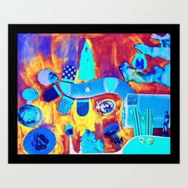 Collage 2 Art Print