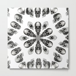 A Death Hex Metal Print