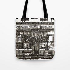 The Sherlock Holmes Pub London Tote Bag