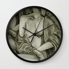 Lady Unknown Wall Clock