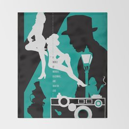 Hardboiled :: The Big Sleep :: Raymond Chandler Throw Blanket