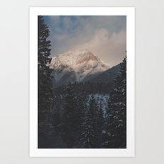 Banff Moutains Art Print