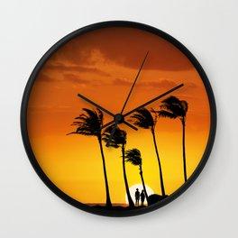 6:08 PM Hawaii Time Wall Clock