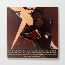 Propaganda Series 7 Metal Print