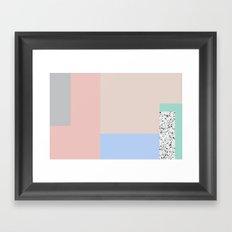 Composition #1 Framed Art Print