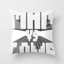 RetroMAN Throw Pillow