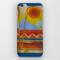 desert iPhone & iPod Skins featuring Desert by Abundance