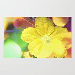 Secret Garden | Cucumber flower Rug