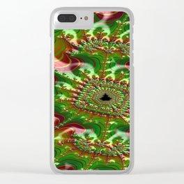 Thunderstruck Skein Clear iPhone Case