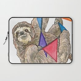 Sloth with Bunting #3 Laptop Sleeve