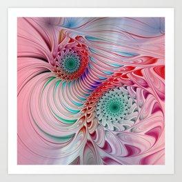fractal design -121- Art Print