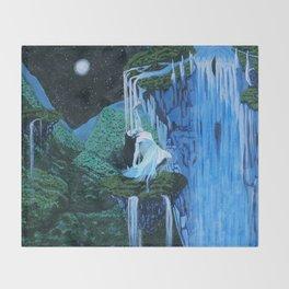 Secret midnight falls Throw Blanket