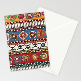 Aztec background Stationery Cards