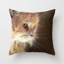 Portrait of Mr. Cesare. Throw Pillow