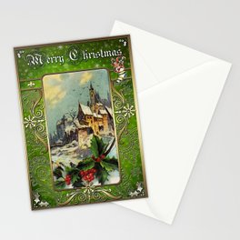 Christmas Vintage 097 Stationery Cards