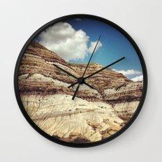 Striations Wall Clock