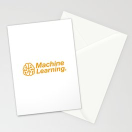 Machine Learning Stationery Cards