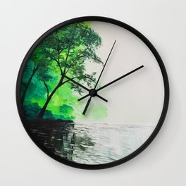 Mists of Avalon Wall Clock