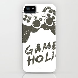GAME HOLIC iPhone Case