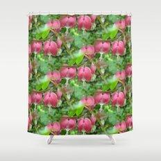 Bleeding Hearts - Dicentra Shower Curtain