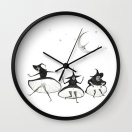 Witches' Sabbath Wall Clock