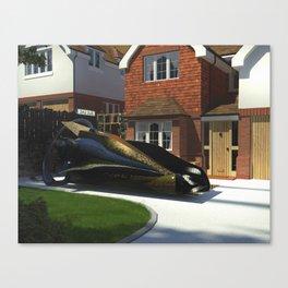 Black Renault Canvas Print