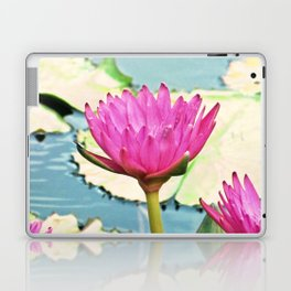 The Water Lily Laptop & iPad Skin