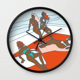 piel morena Wall Clock
