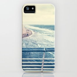 Beach at summer sunset iPhone Case