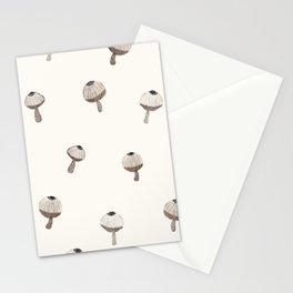 Seamless texture of mushroom Stationery Cards