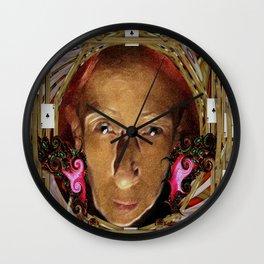 Las Vegas Baby Pop Art Wall Clock