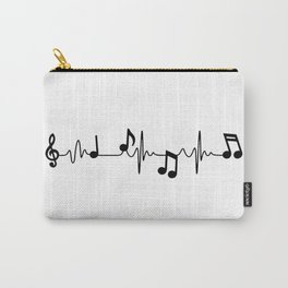 MUSICAL HEART BEAT Carry-All Pouch