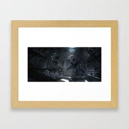 Feral Orbit - A Close Encounter Framed Art Print