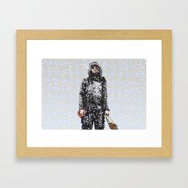 PARKA Framed Art Print