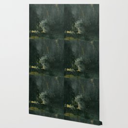 James Abbott McNeill Whistler - Nocturne in Black and Gold Wallpaper
