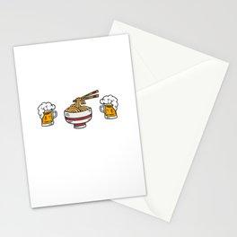 Lustiger Ramen Bier Alkohol Spruch Stationery Cards