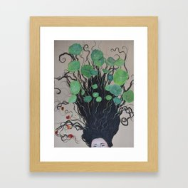 On Growing You Framed Art Print