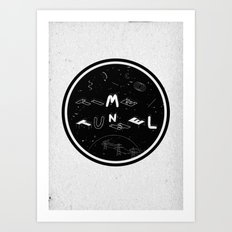 TIME TUNNEL Art Print