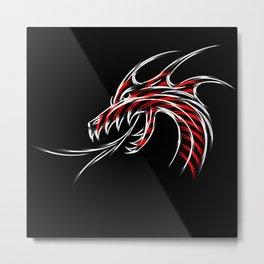 Head of the dragon Metal Print
