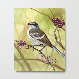 Always Time For Berries Metal Print